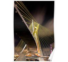 Ponte Estaiada - Sao Paulo Poster