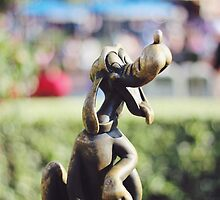 Pluto Statue  by alyssanicolev