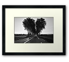 Road To My Broken Heart Framed Print