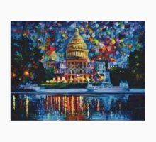 Capitol At Night Washington — Buy Now Link - www.etsy.com/listing/172677574 T-Shirt