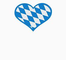 Bavaria flag heart Unisex T-Shirt