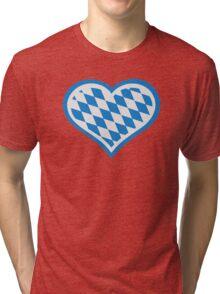 Bavarian heart Tri-blend T-Shirt