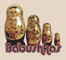 Babushka Nesting Dolls by doonidesigns