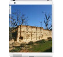 Sandstone cutting at Overland Corner iPad Case/Skin