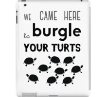 your turts iPad Case/Skin