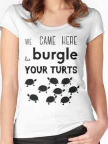 your turts Women's Fitted Scoop T-Shirt