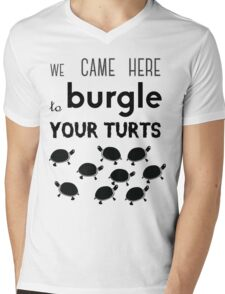 your turts Mens V-Neck T-Shirt