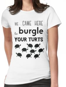 your turts Womens Fitted T-Shirt