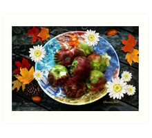 Fall Is the Season for Apples Art Print