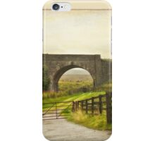 Country Road - Aviemore - Scotland iPhone Case/Skin