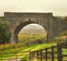 Country Road - Aviemore - Scotland Sticker