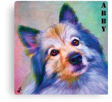 """""""Abby-Dabby-Do"""" Canvas Print"""