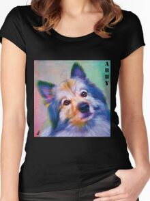 """""""Abby-Dabby-Do"""" Women's Fitted Scoop T-Shirt"""
