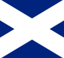 Scottish Independence Flag Scotland T-Shirt Sticker