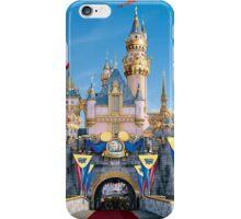 Disneyland castle iPhone Case/Skin