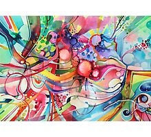 Nice Clowns You Got There - Watercolor Painting Photographic Print