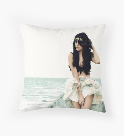 Whispering Wind Throw Pillow