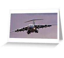C-17 Globe Master Greeting Card