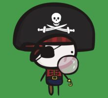 Yarrg, Pirates Can Blow Bubbles Too! Kids Clothes
