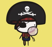 Yarrg, Pirates Can Blow Bubbles Too! Kids Tee