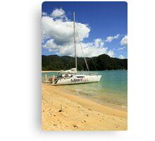 Sailing in Abel Tasmin Canvas Print
