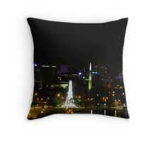 The Perth Wheel & The Bell Tower. Kings Park. West Perth. Throw Pillow