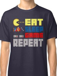 Eat. Sleep. Game. Repeat. Classic T-Shirt