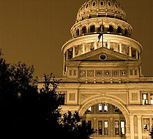 Texas State Capitol Building by Jeff Blanchard