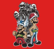 Mario and Luigi versus the Roman Empire by Gilles Bone