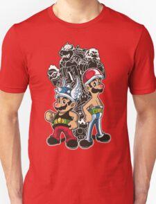 Mario and Luigi versus the Roman Empire T-Shirt