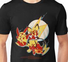 Rai Flash, Pika Flash and Impichu Unisex T-Shirt
