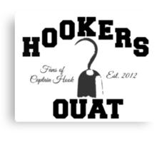 OUAT Hook Canvas Print