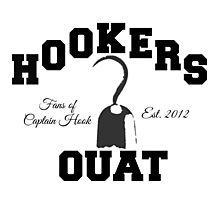 OUAT Hook Photographic Print