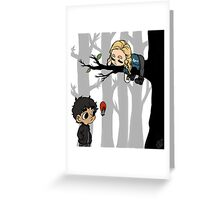 Clarke Griffin Leads Her People From A Tree Greeting Card
