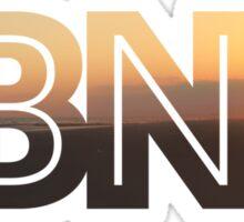 Long Beach New York Sunset  Sticker