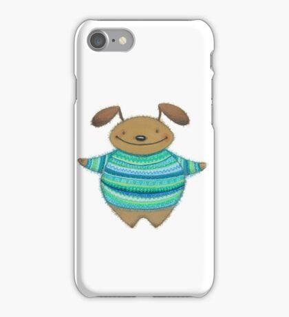 Hug bunny dog bear iPhone Case/Skin
