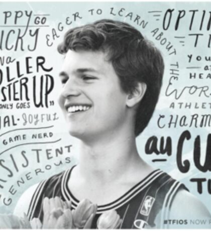 augustus waters Sticker