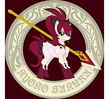 Pony Magi Madoka Magica ~ Kyoko Photographic Print