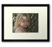 This is My Baby Girl (Abby) Framed Print