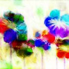 Dyed Poppies by Darlene Lankford Honeycutt