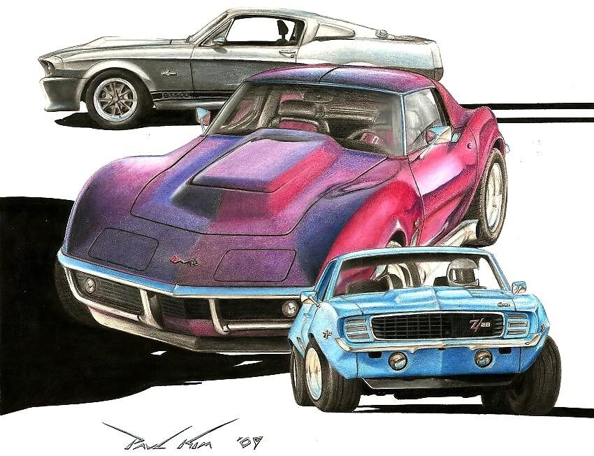 My Favorite Three by Paul Kim