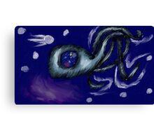 3 Legged Space Squid  Canvas Print
