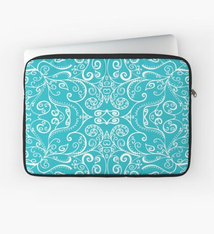 Silent Era, Turquoise Laptop Sleeve