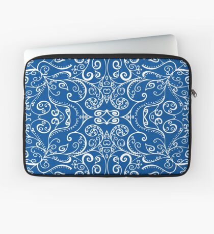 Silent Era, Blue Laptop Sleeve