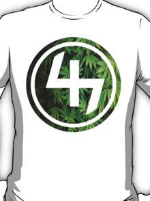47 (4th and 7th Chakra) Weed Marijuana T-Shirt