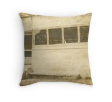 Beer & Lunch Throw Pillow