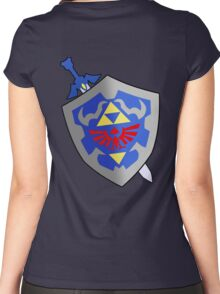 Sword and Shield Women's Fitted Scoop T-Shirt