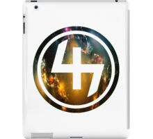 47 (4th and 7th Chakra) Nebula iPad Case/Skin
