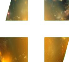 47 (4th and 7th Chakra) Nebula Sticker