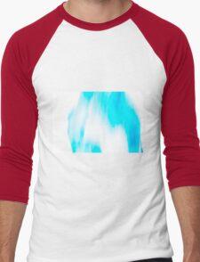 Turquoise Sun  Men's Baseball ¾ T-Shirt